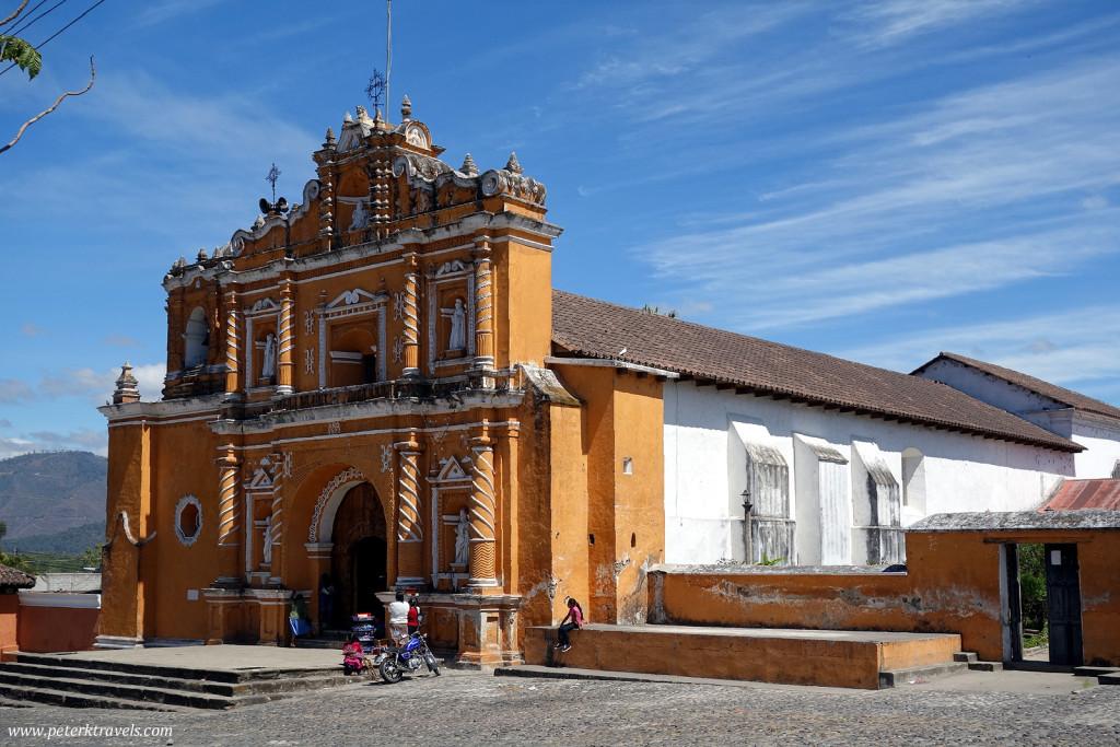 Church in San Pedro Last Huertas, Guatemala