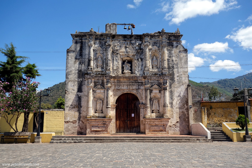 Church in San Gaspar Vivar, Guatemala