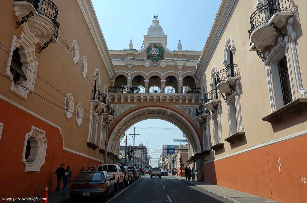 Arch in Guatemala City