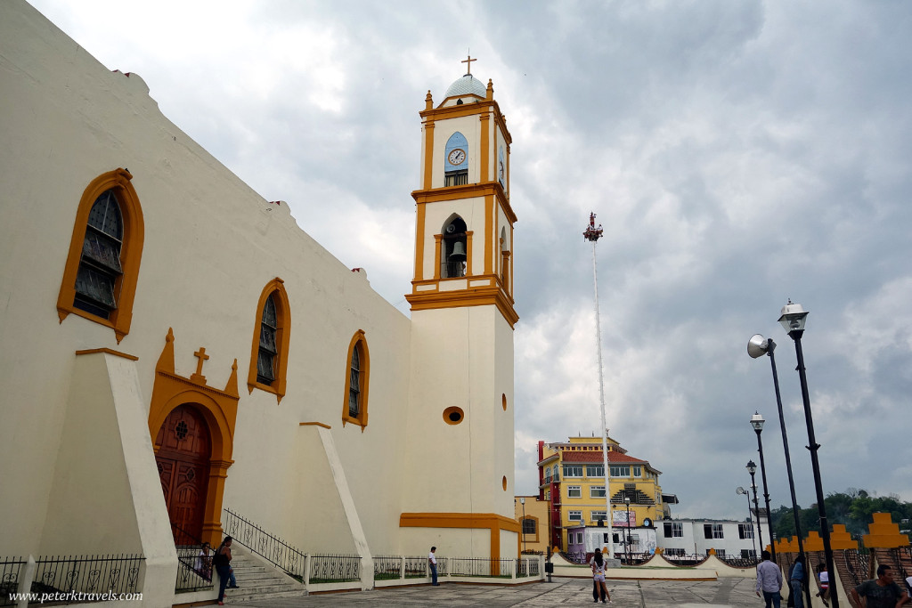 Church and Voladores, Papantla