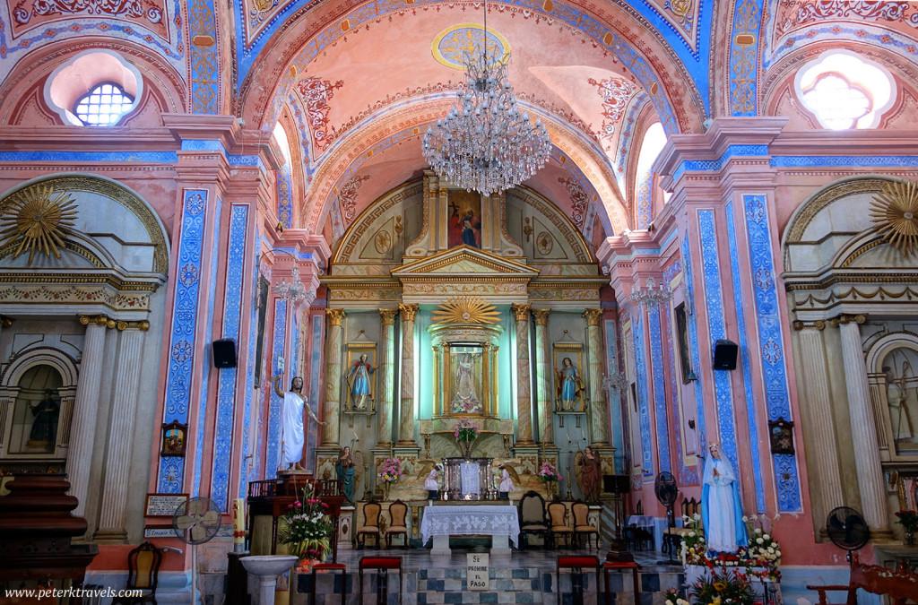 Interior of Iglesia la Candelaria, Tlacotalpan