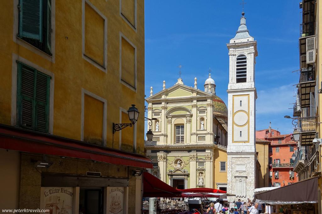 Nice Cathedral, Basilique-Cathédrale Sainte-Marie et Sainte-Réparate de Nice
