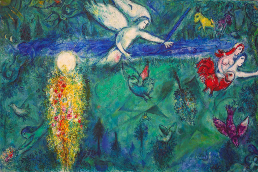 Mus e national marc chagall peter 39 s travel blog for Chagall tableau
