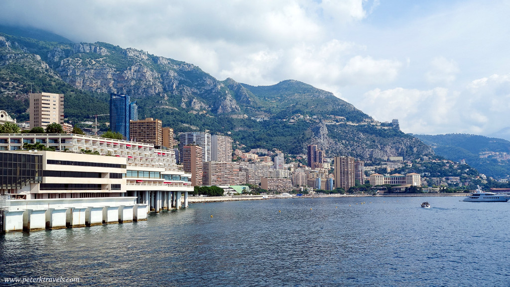 Monaco from the water
