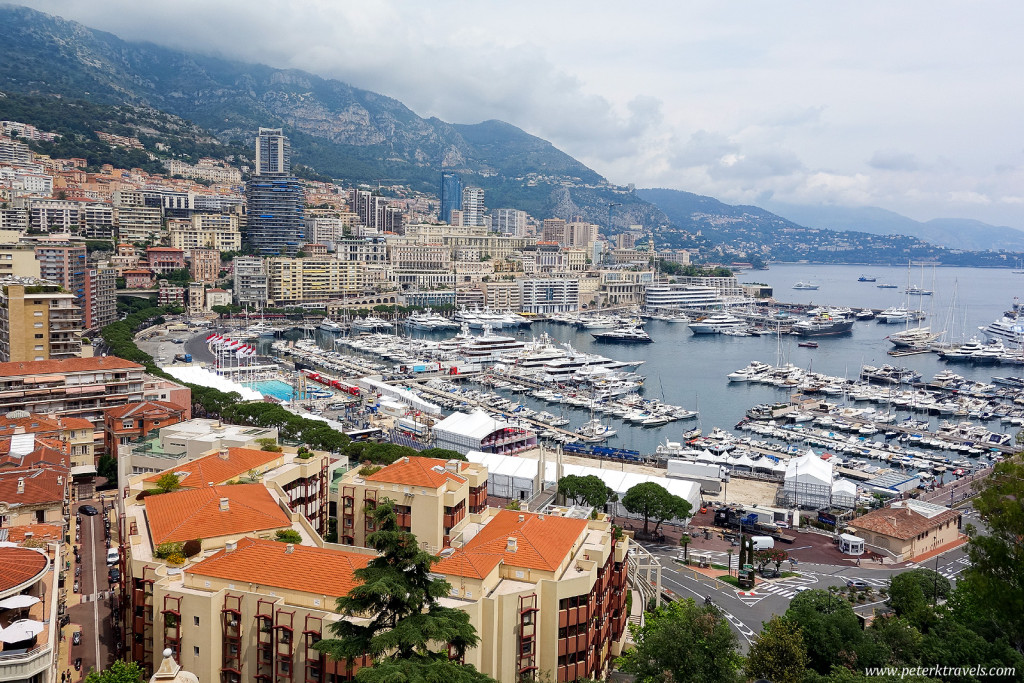 View of Monaco from Monaco-Ville