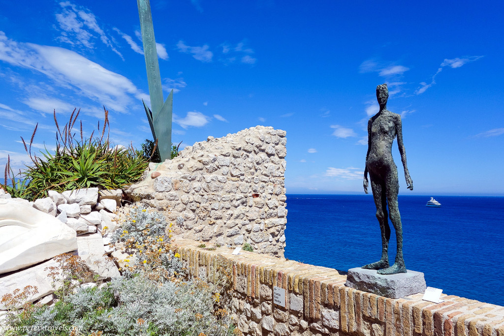 Sculpture at Picasso museum, Antibes
