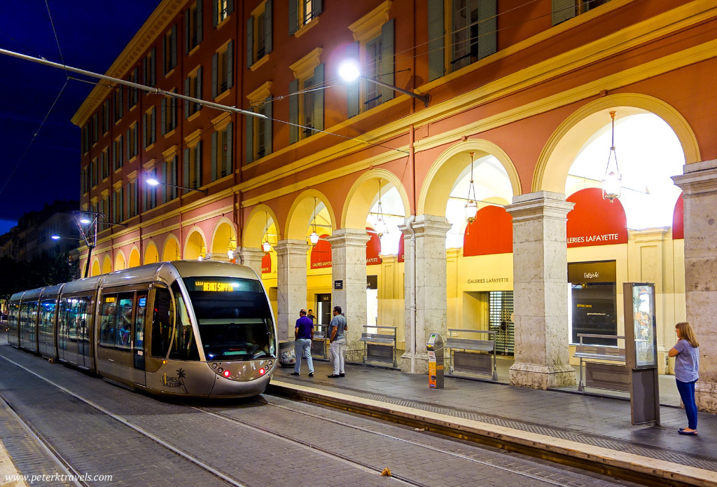 Train Near Place Massena, Nice