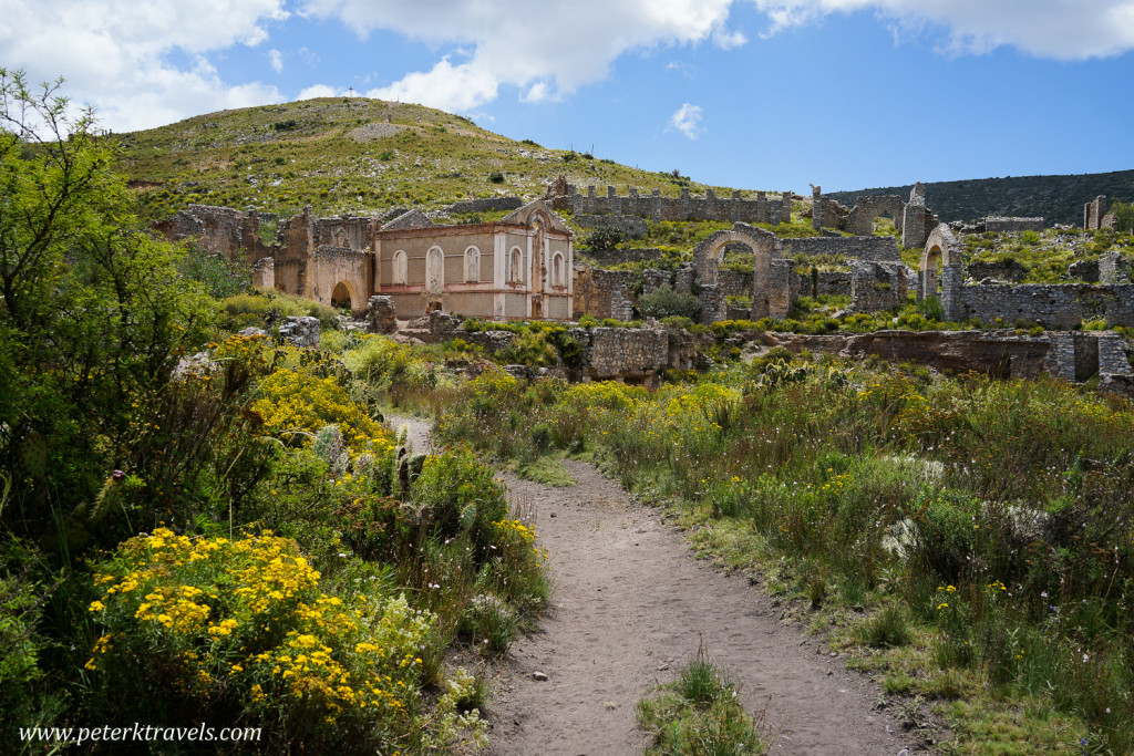 Ghost town above Real de Catorce