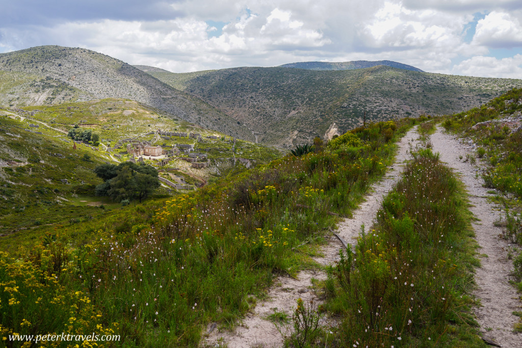 Path above Real de Catorce