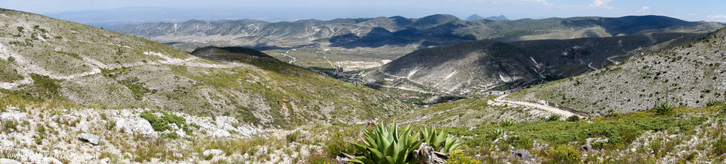 Panorama from hills above Real de Catorce