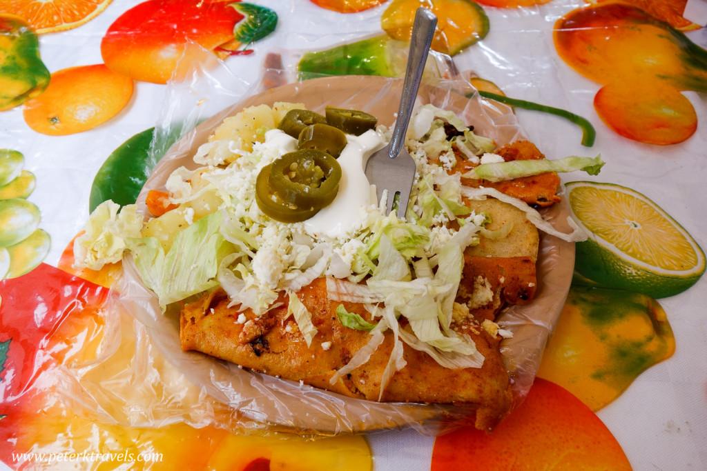 Enchiladas Mineras, Guanajuato