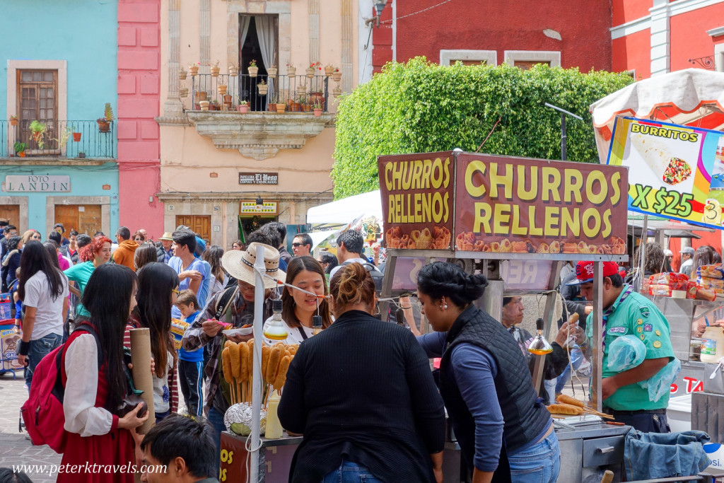 Churros Stand, Guanajuato