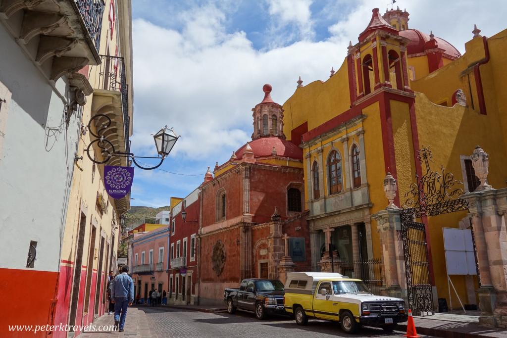 Street view, Guanajuato
