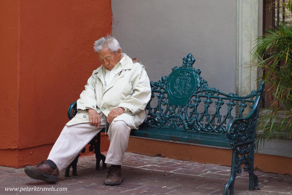Siesta time, Guanajuato