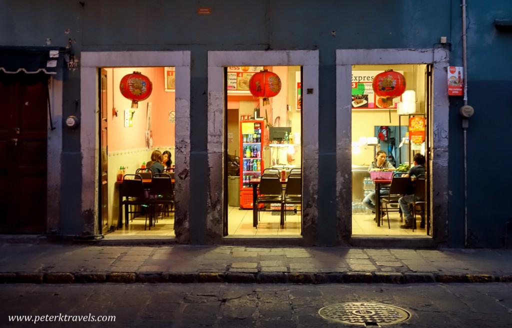 Chinese Restaurant, Guanajuato