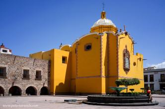 La Capilla de Aranzazú, San Luis Potosi
