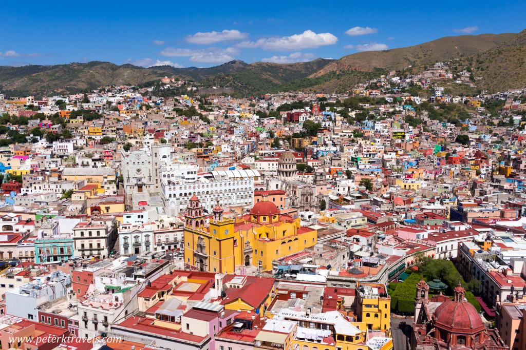View of Basilica, Guanajuato