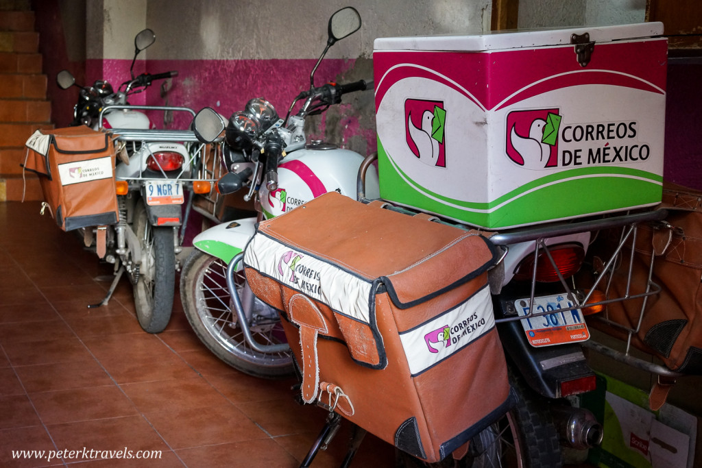 Mail Service Motorcycles, Guanajuato