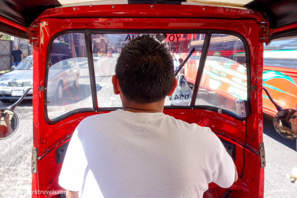 Tuk-tuk driver, Panajachel, Guatemala