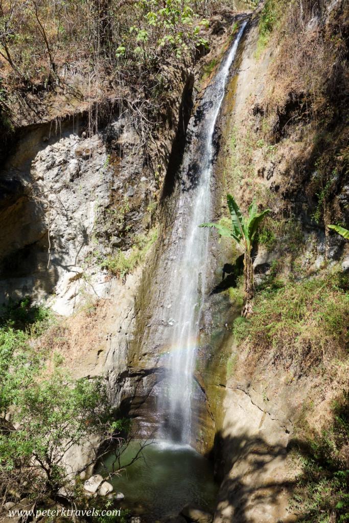 Waterfall, Panajachel, Guatemala