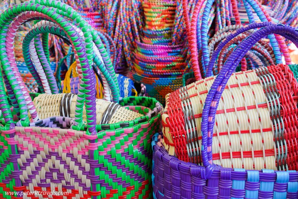 Baskets, Panajachel, Guatemala