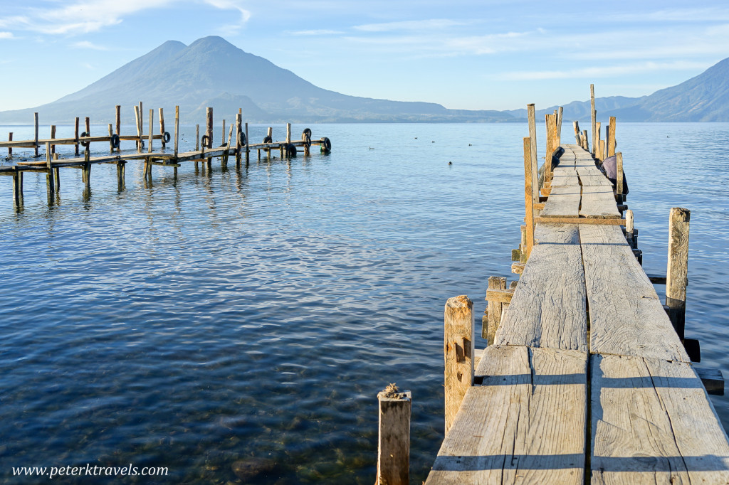 Lake Atitlan docks, Guatemala
