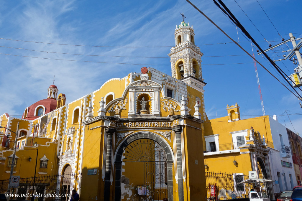Ex-Convento and Temple of San Agustin, Atlixco.