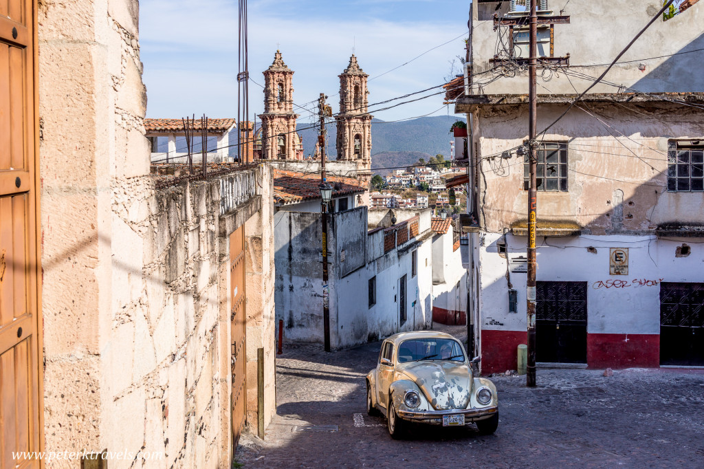Taxco street with VW