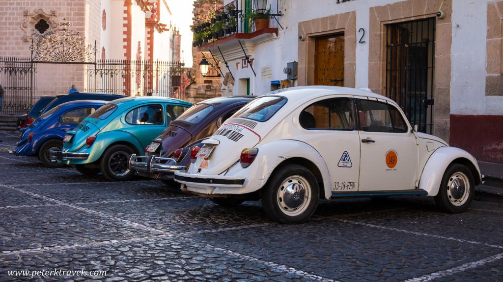 Volkswagen Beetles, Taxco.