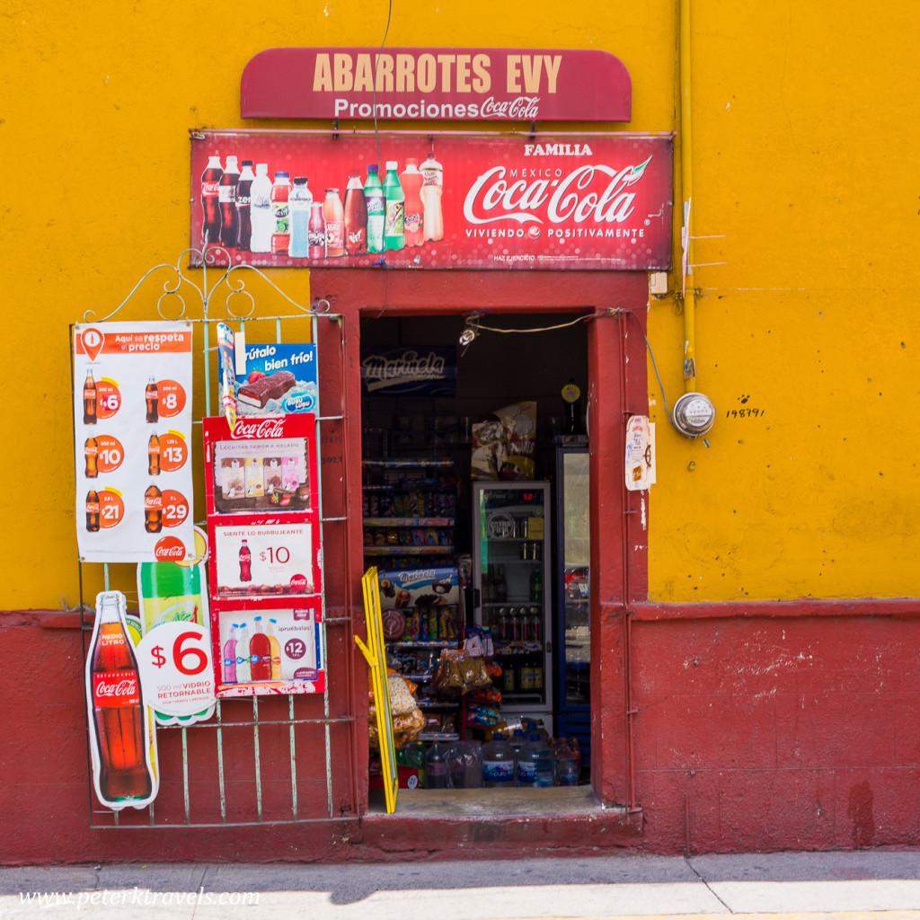 Evy's Groceries, Atlixco.