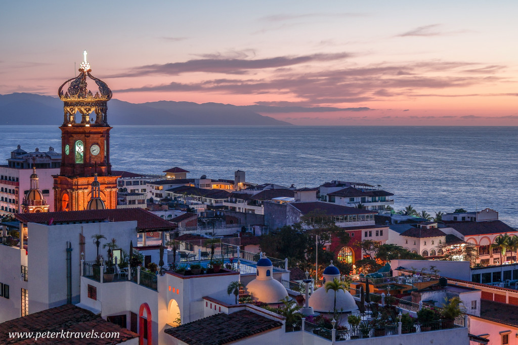 Puerto Vallarta at Dusk
