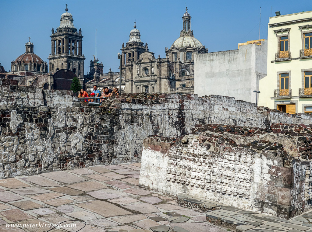 Templo Mayor Ruins, Mexico City