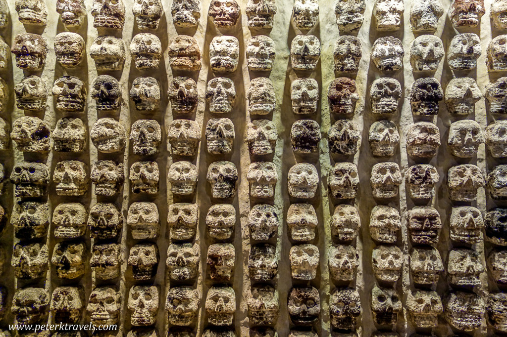 Wall of Skulls, Mexico City