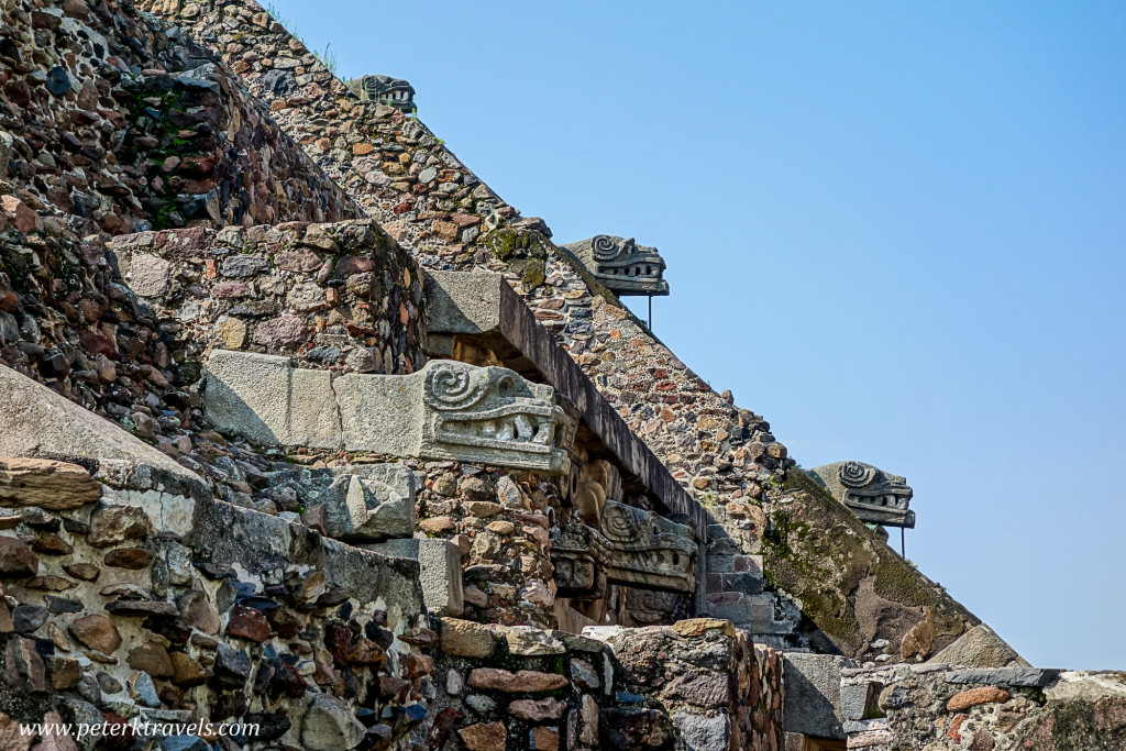 Pyramid of the Feathered Serpent, Teotihuacan.
