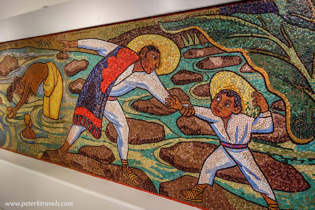 Diego Rivera Mosaic, Museo Soumaya