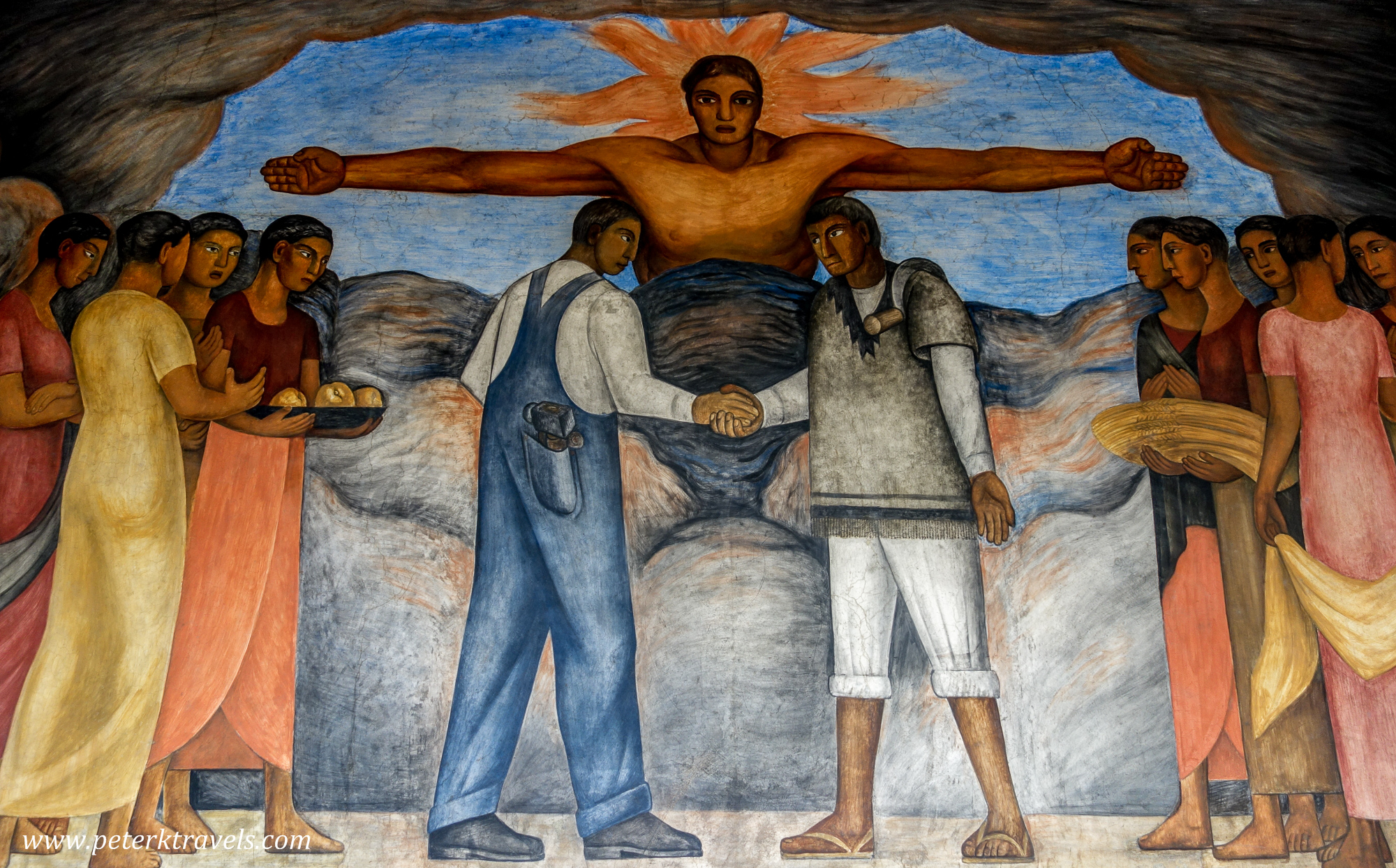 Discovering diego peter 39 s travel blog for Diego rivera mural