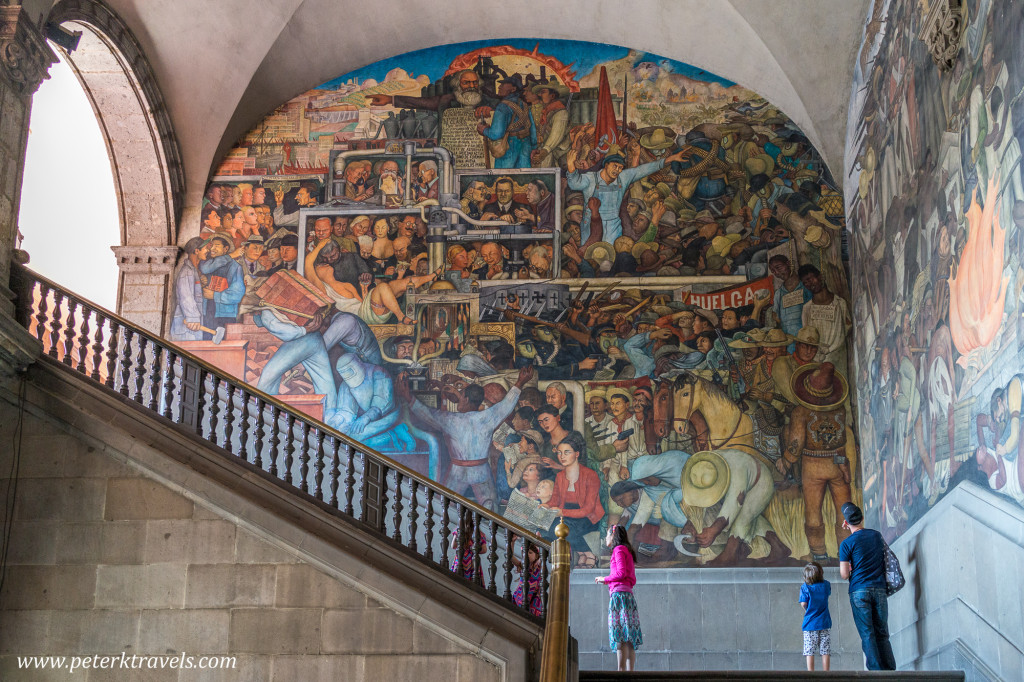 Discovering diego peter 39 s travel blog for Diego rivera mural at rockefeller center