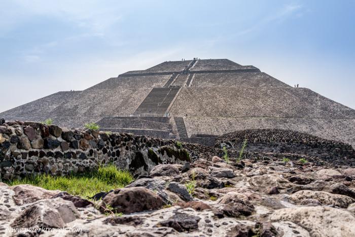Pyramid of the Sun, Teotihuacan.