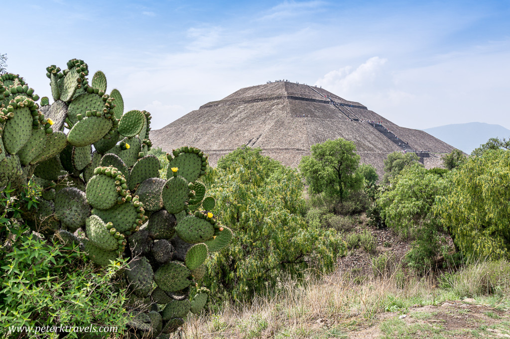 Pyramid of the Sun, Teotihuacan.