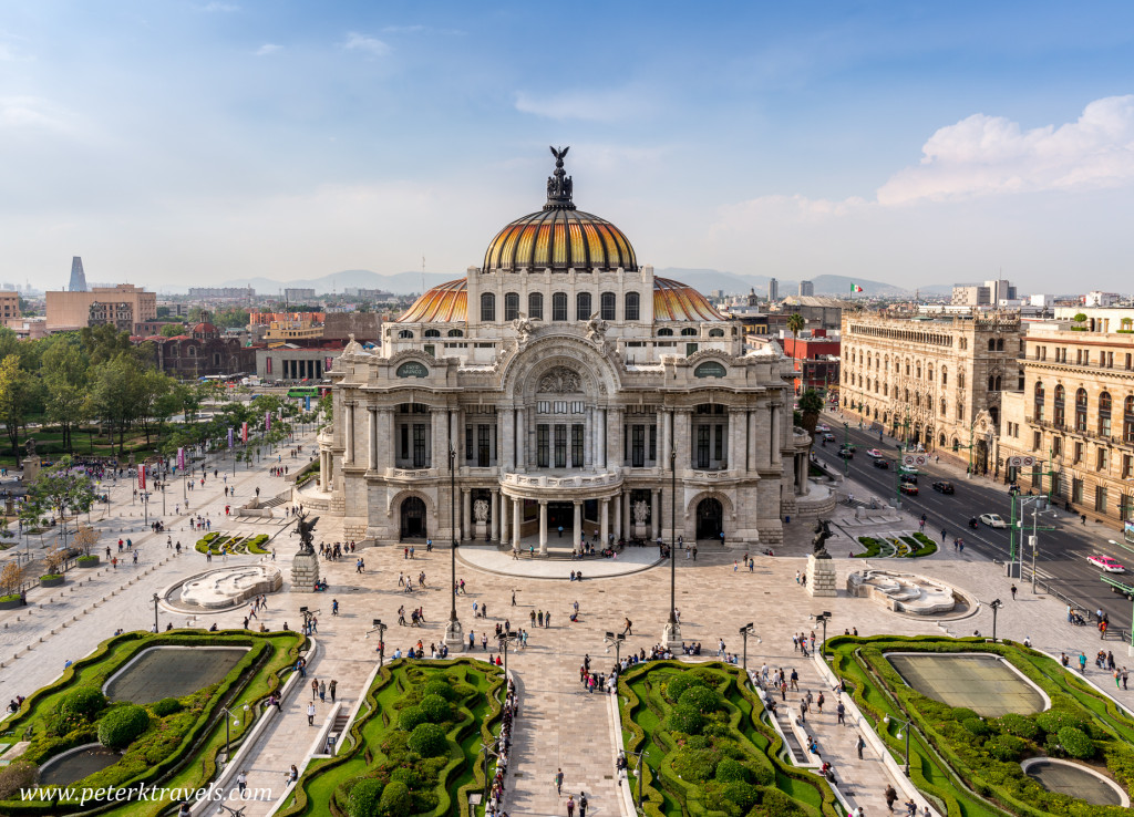 Palacio de Bellas Artes, Mexico City