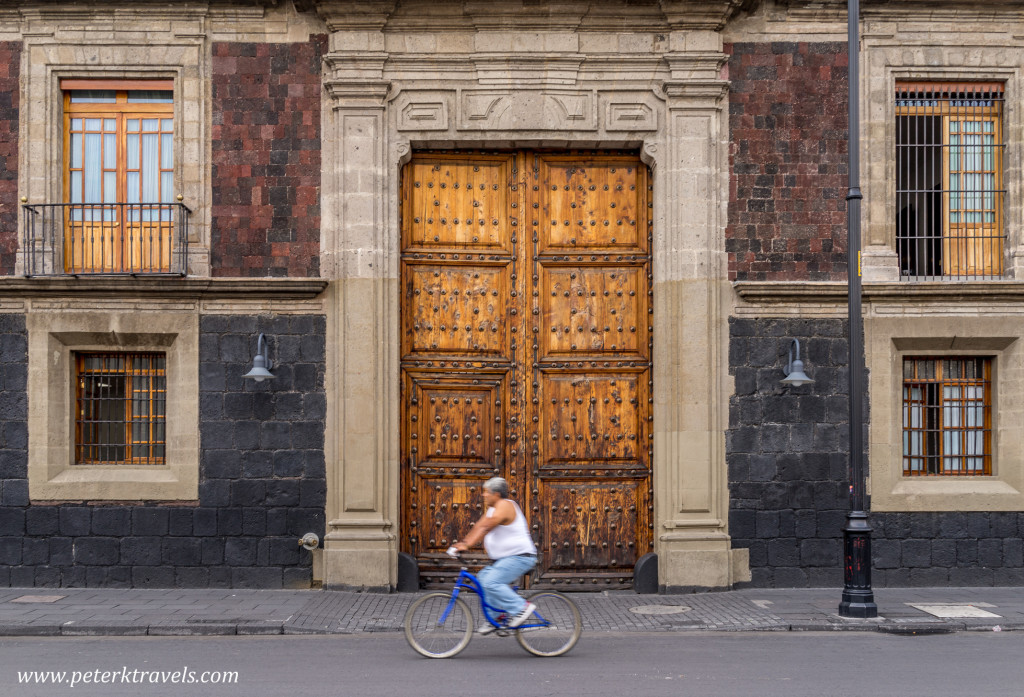 Bicycle Rider, Mexico City