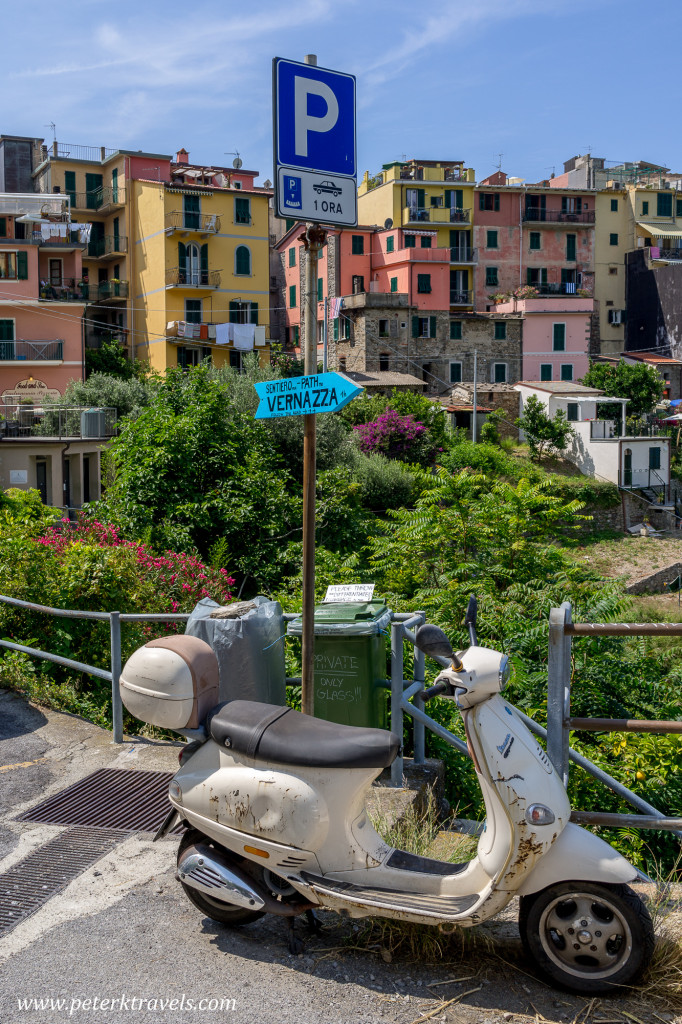 Moped, Corniglia.
