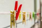Clothespins in Corniglia.