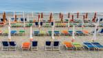 Umbrellas and Chairs, Monterosso al Mare, Italy