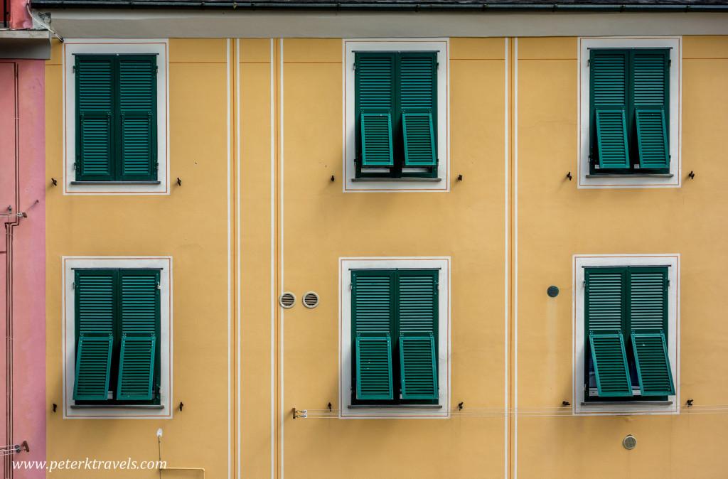 Shutters, Monterosso al Mare, Italy