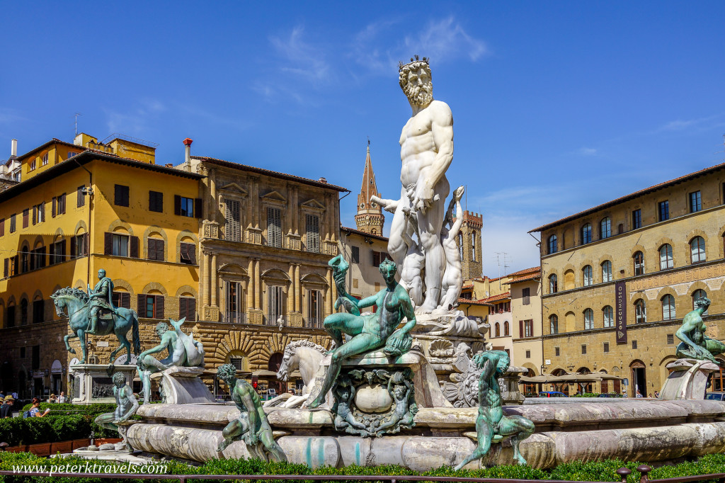 Neptune Fountain, Florence