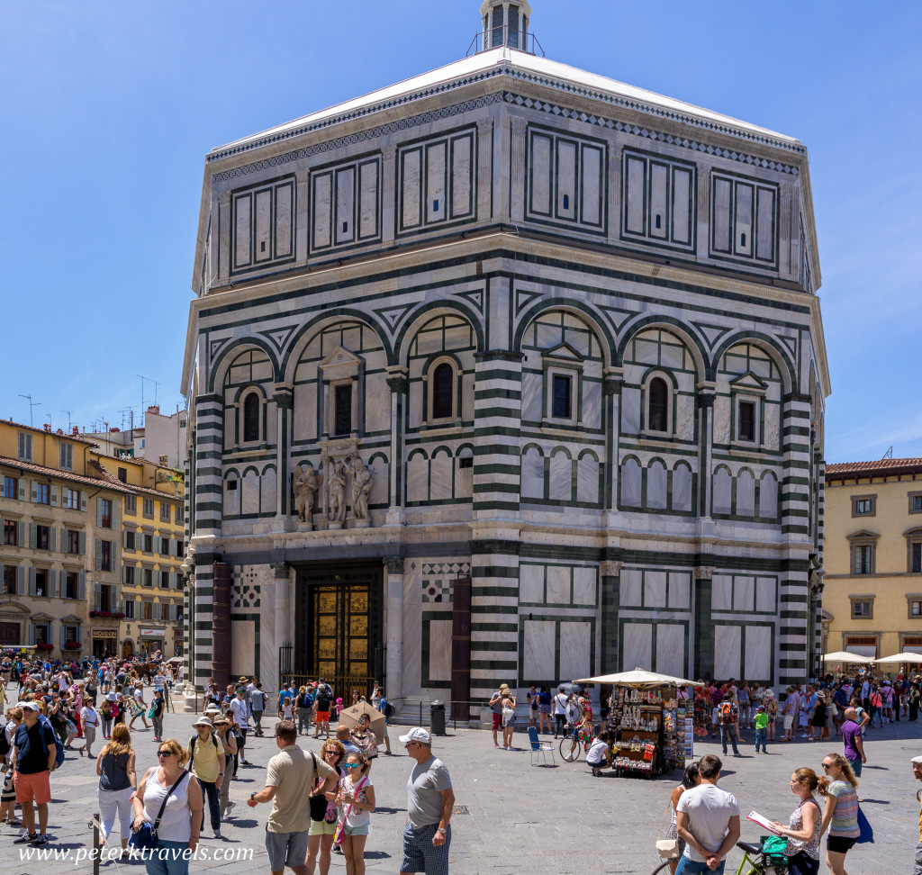 The Baptistry, Florence.