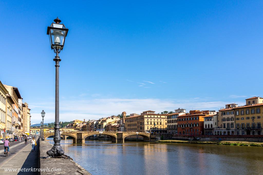 Arno river, Florence.