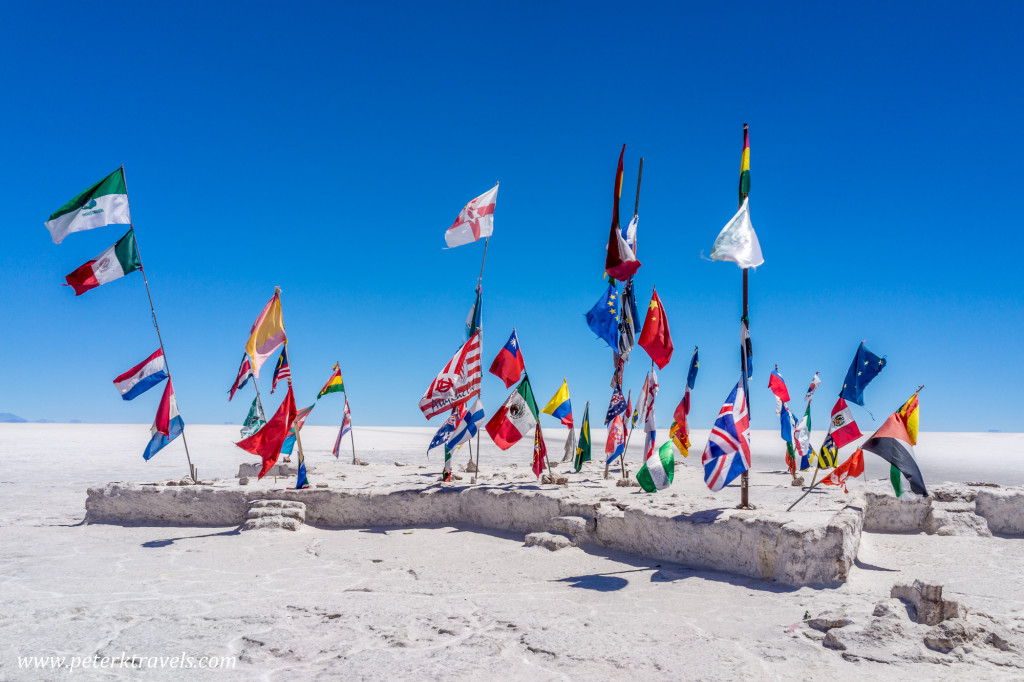 Visitor Flags, Salar de Uyuni.