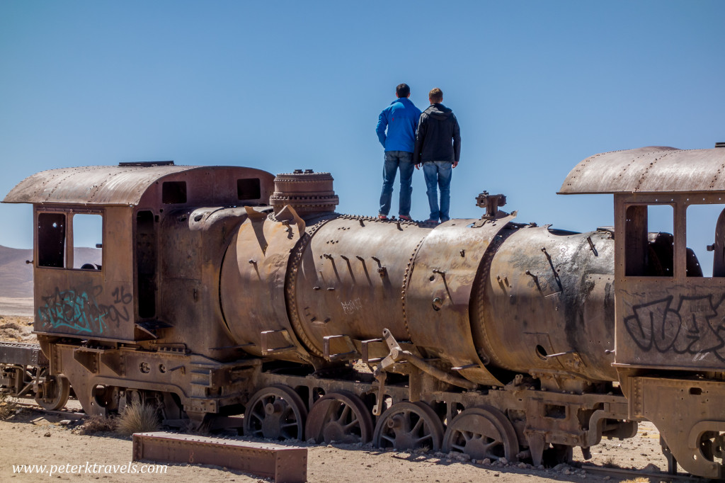 Uyuni Train Cemetery, Bolivia